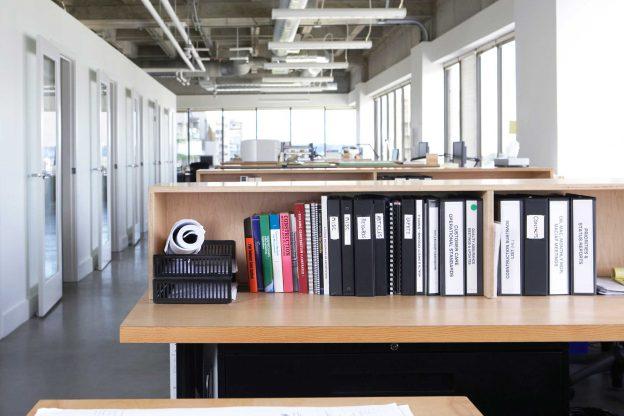 organizar o espaço de trabalho