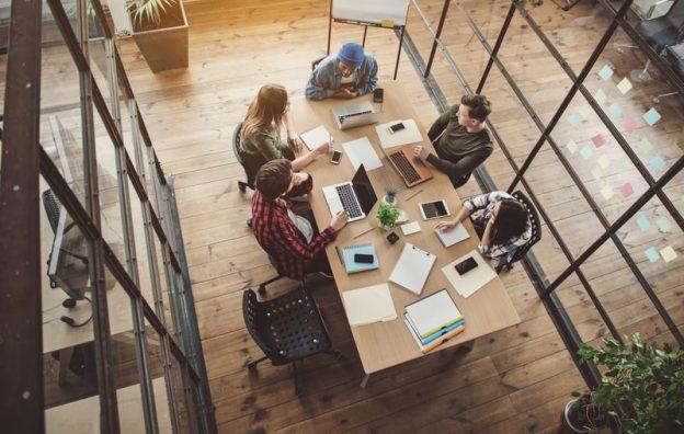 ambiente de trabalho produtivo